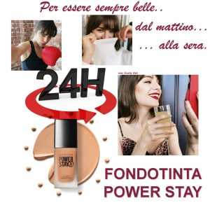 fondotinta power stay
